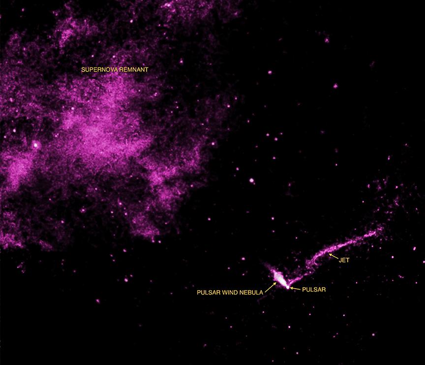 El largo chorro de la nebulosa del Faro