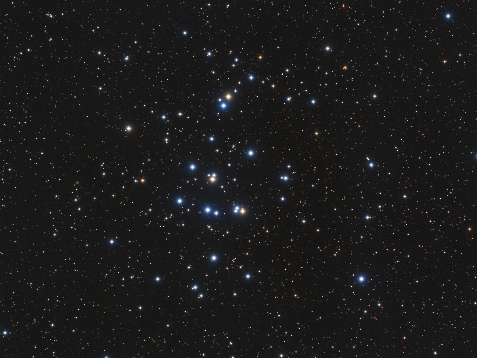 Image of the Beehive Cluster