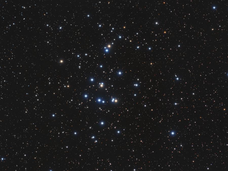 M 44: el cúmulo del Pesebre