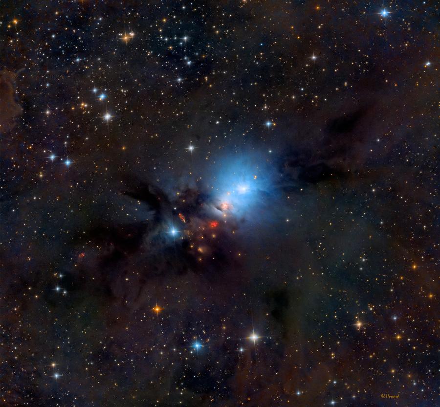 Polvo de estrellas de NGC 1333