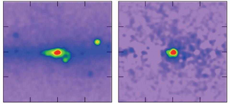 ¿Rayos gamma procedentes de materia oscura del centro galáctico?