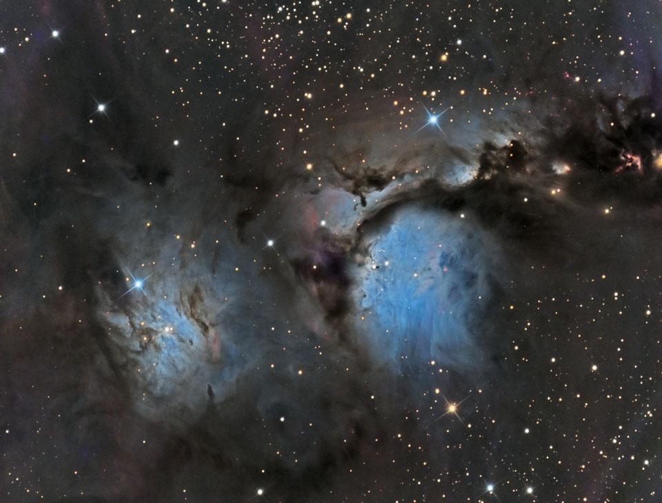 M 78 y nubes de polvo reflectante