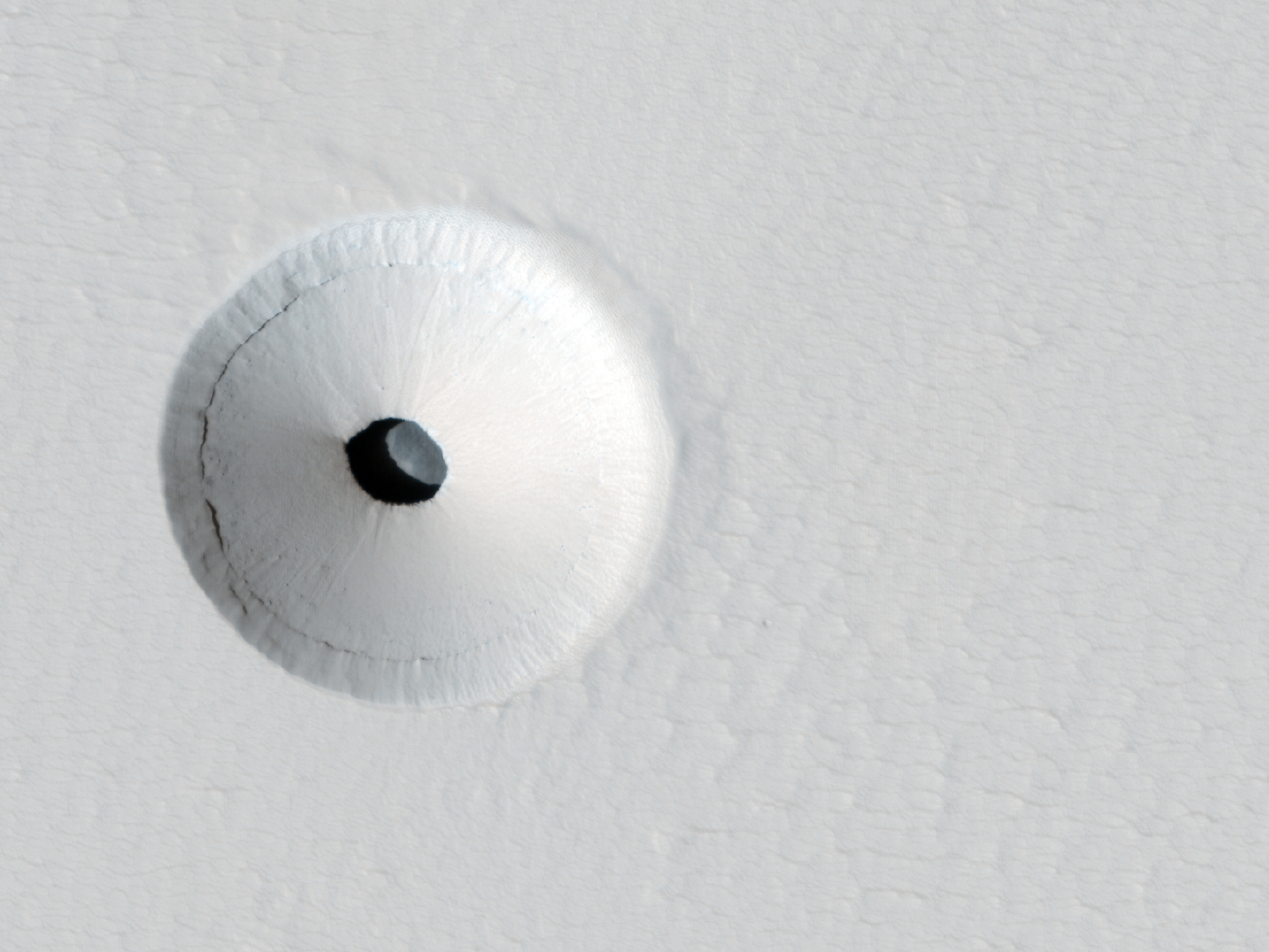 2014 March 9 - A Hole in Mars