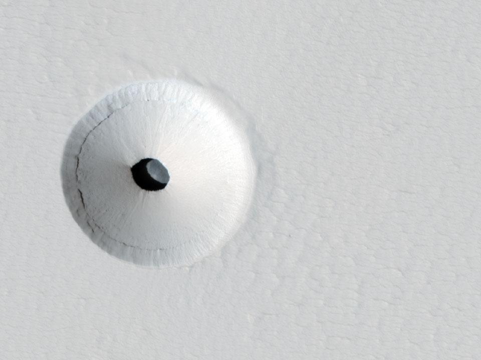 Sebuah Lubang di Mars