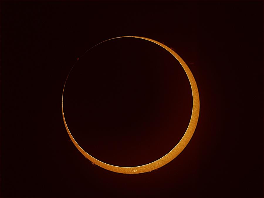 Eclipse anular del Sur