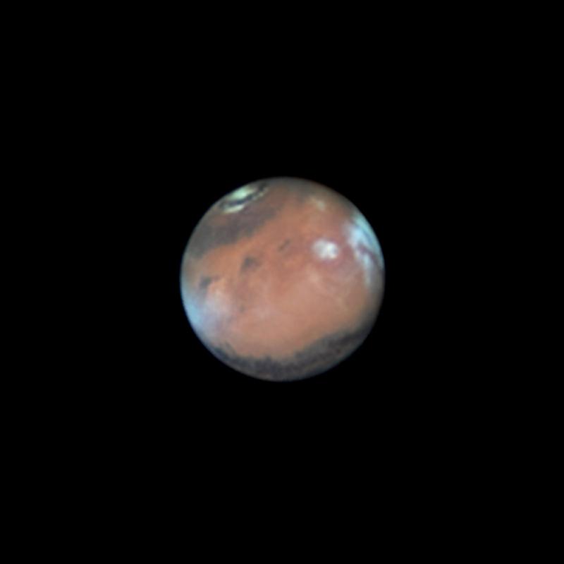 Marte cerca de la oposición