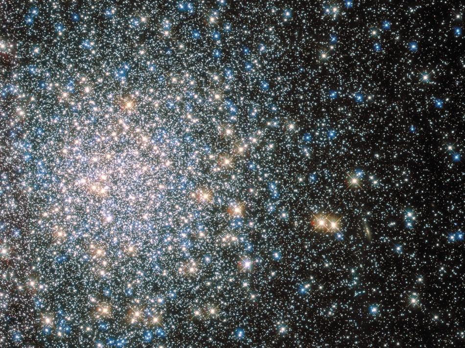 Messier 5 por el Hubble