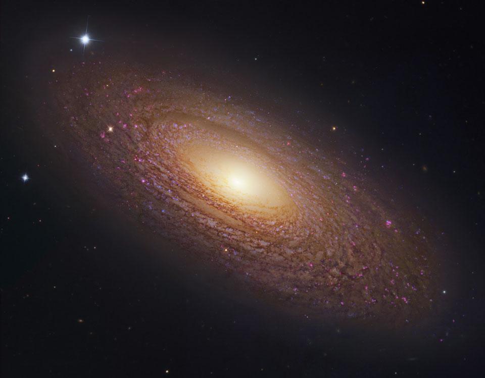 La masiva y cercana galaxia espiral NGC 2841