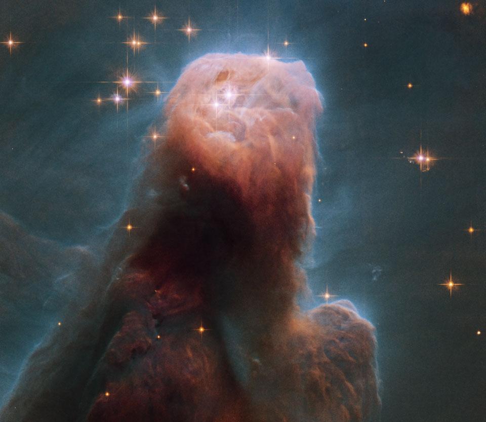 La nebulosa del Cono desde el Hubble
