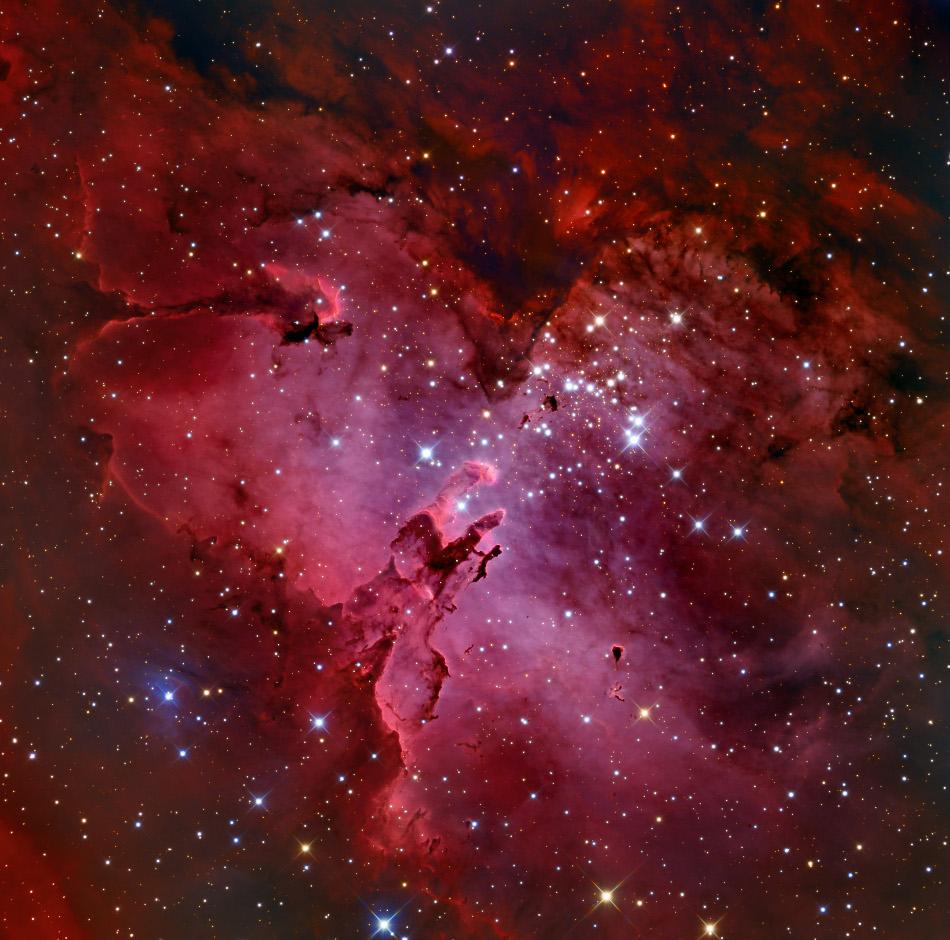 M 16 y la nebulosa del Águila