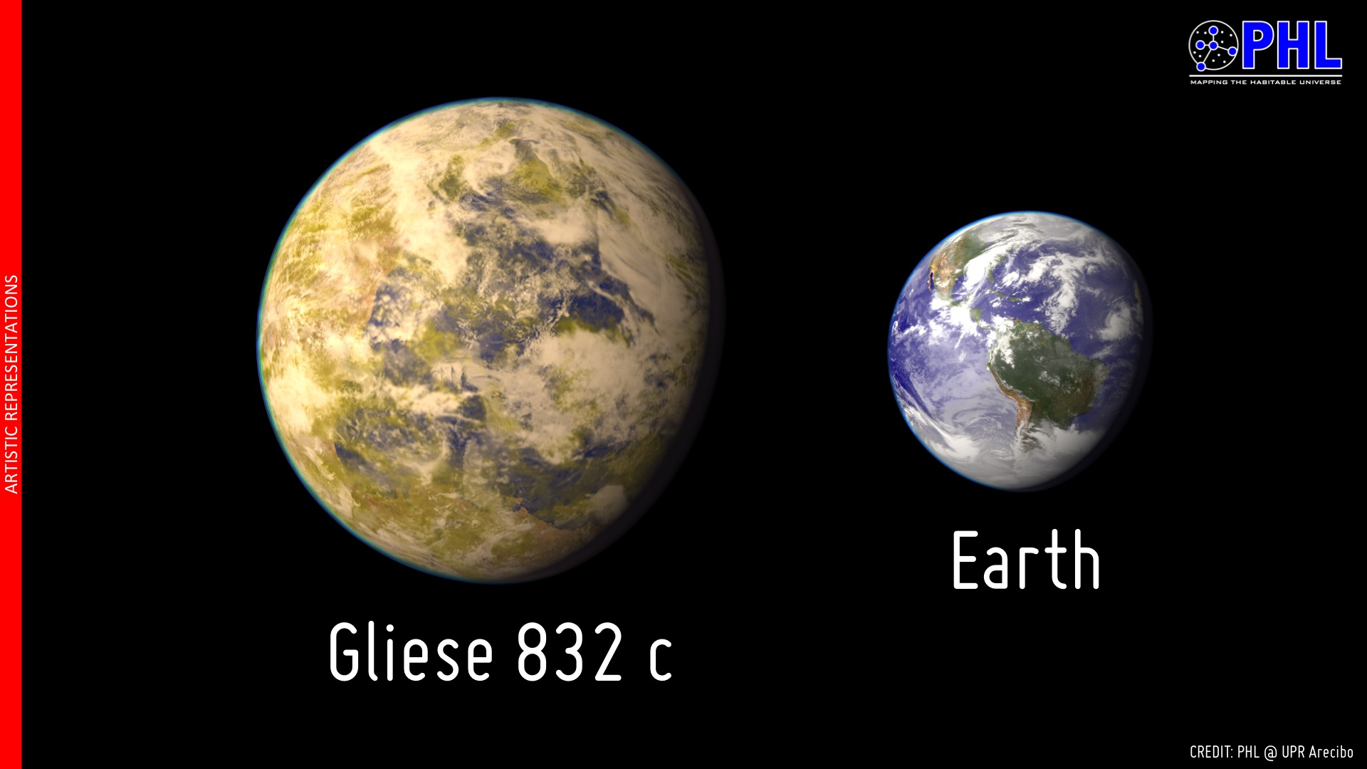 APOD: 2014 July 9 - Gliese 832c: The Closest Potentially