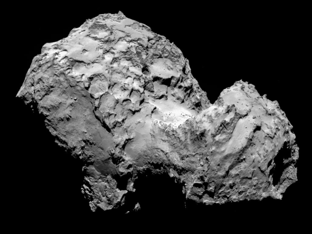 El encuentro de la Rosetta
