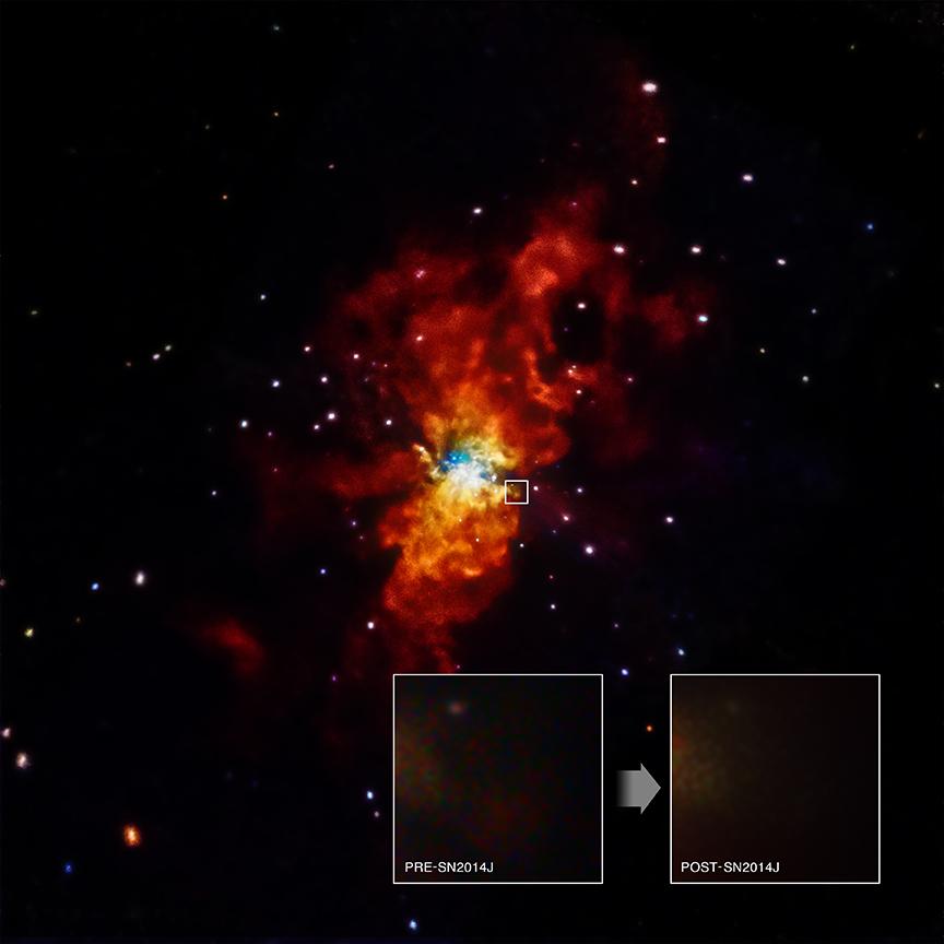 No hay rayos X de SN 2014J