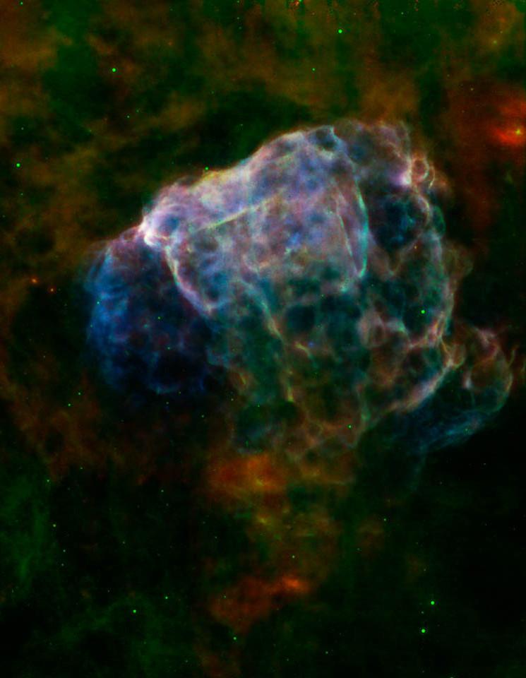 El remanente de la supernova Puppis A