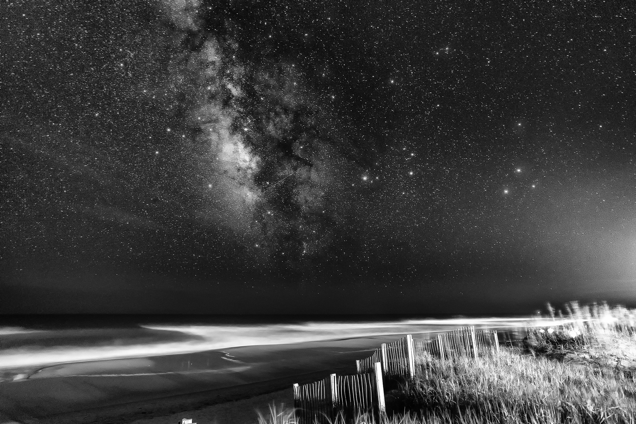 Black And White Universe Photography