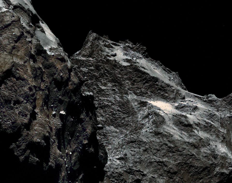 62 kilómetros por encima del cometa Churyumov-Gerasimenko
