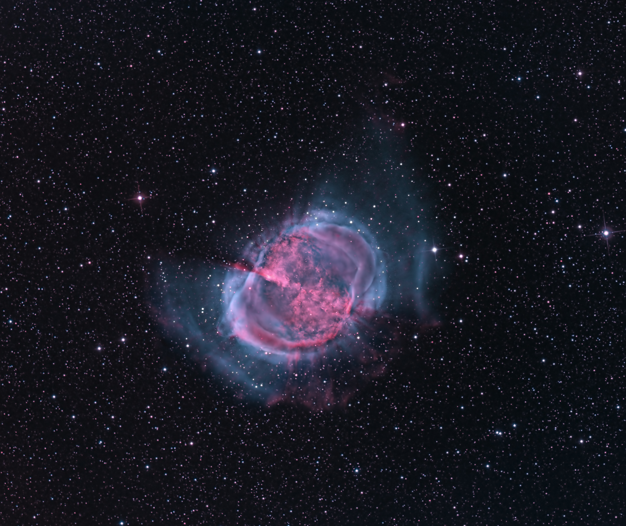 dumbbell nebula colors - photo #35