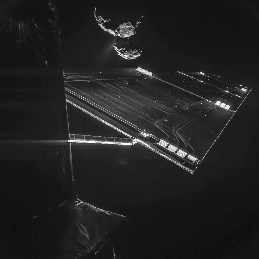 Selfie de la Rosetta