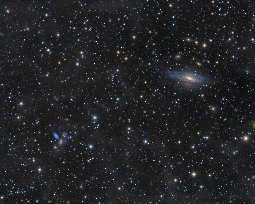 Galaxias en Pegasus