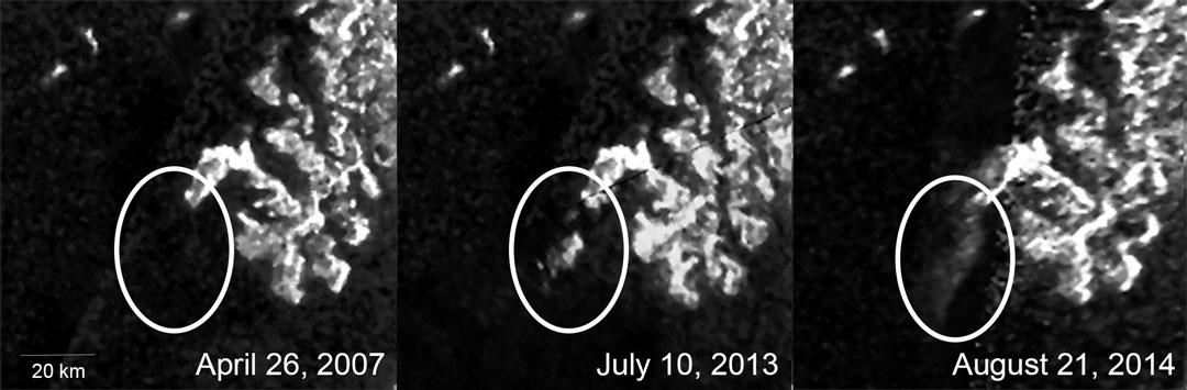 Misterioso cambio en Titán