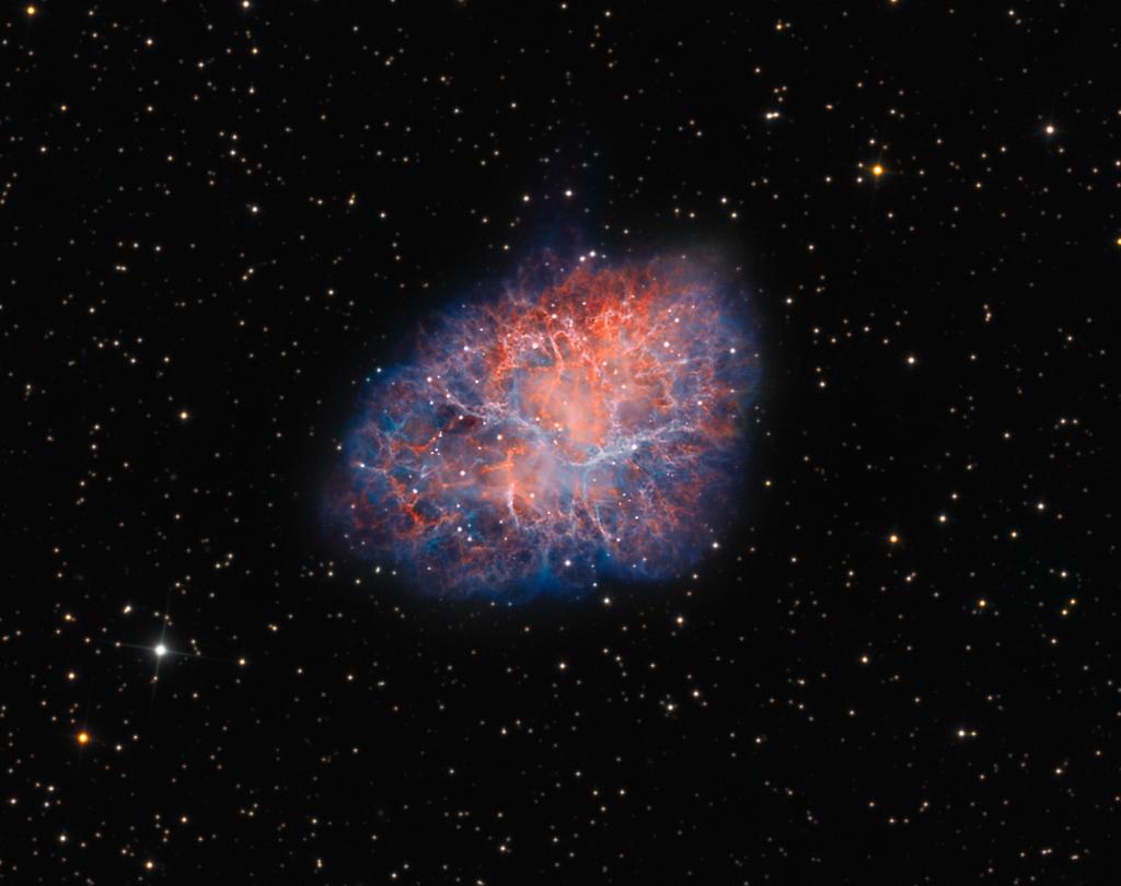 M1: la nebulosa del Cangrejo
