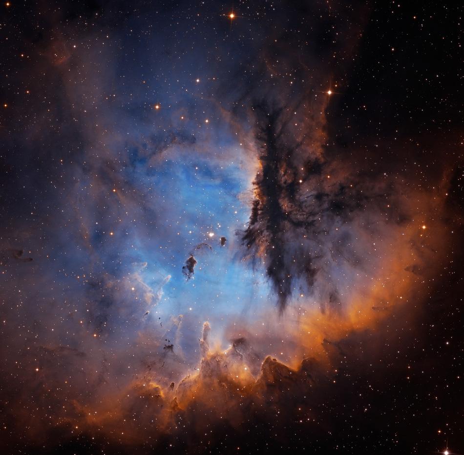 Retrato de NGC 281