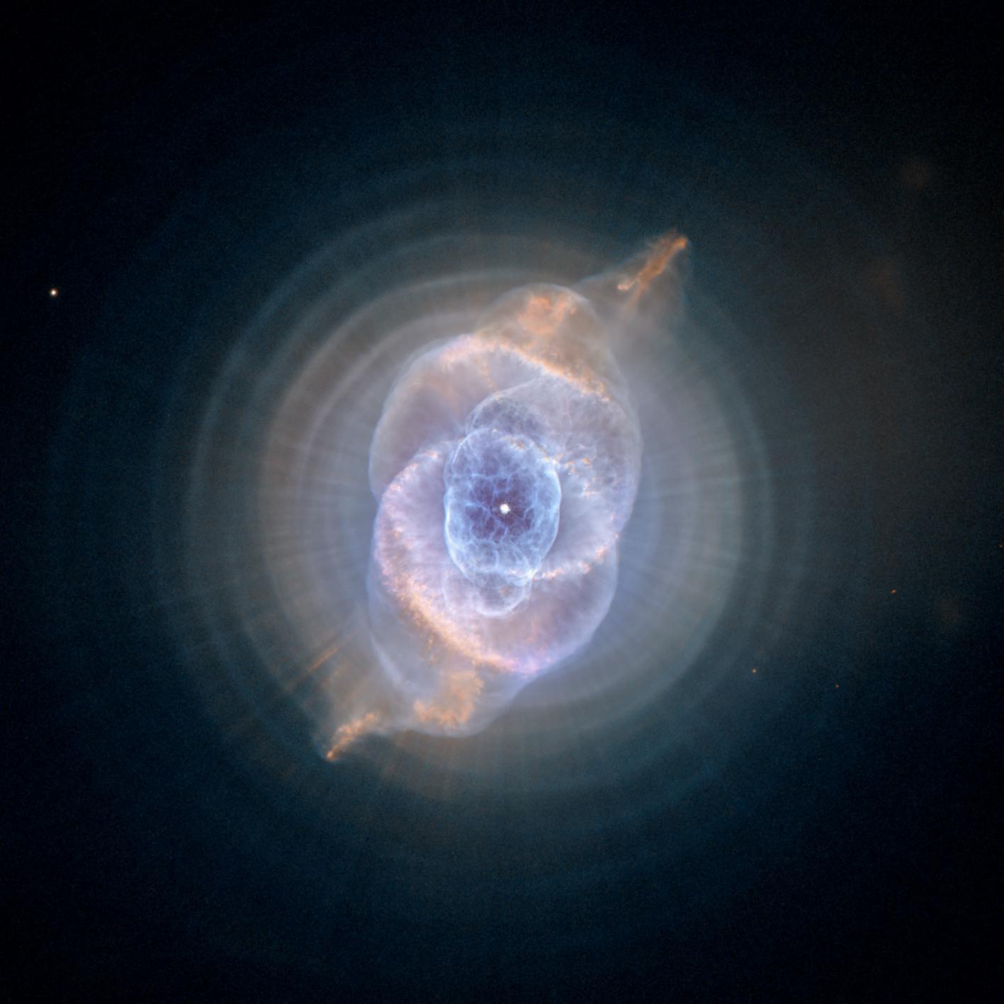 2014 November 9 - The Cat's Eye Nebula from Hubble