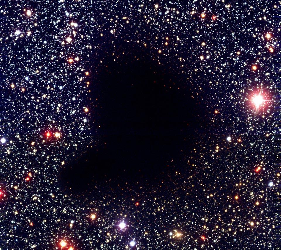 La nube molecular Barnard 68