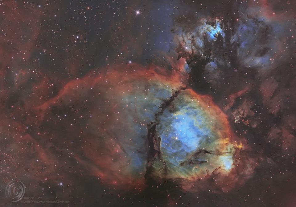 IC 1795: la nebulosa Cabeza de Pescado