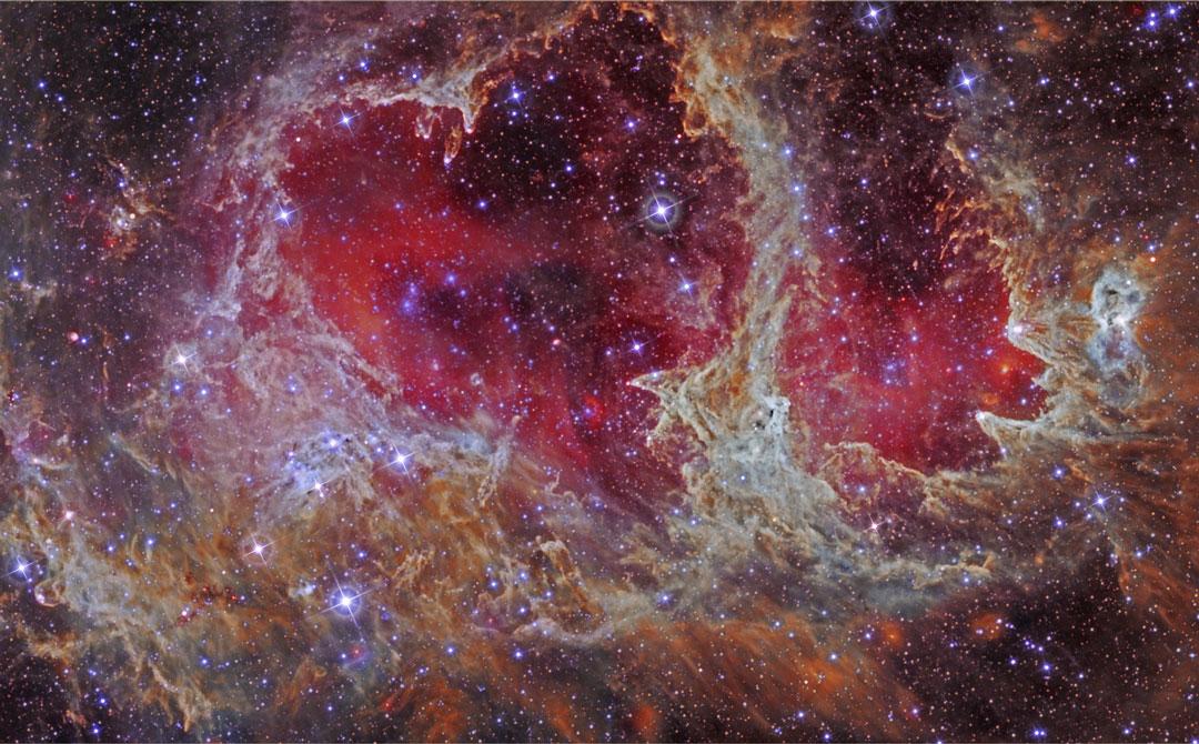 W5: pilares de formación estelar