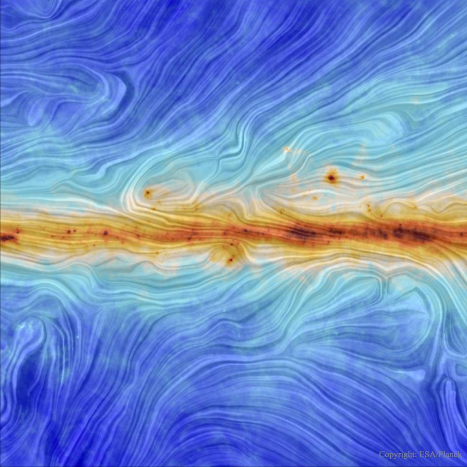 El campo magnético de nuestra galaxia desde el Planck