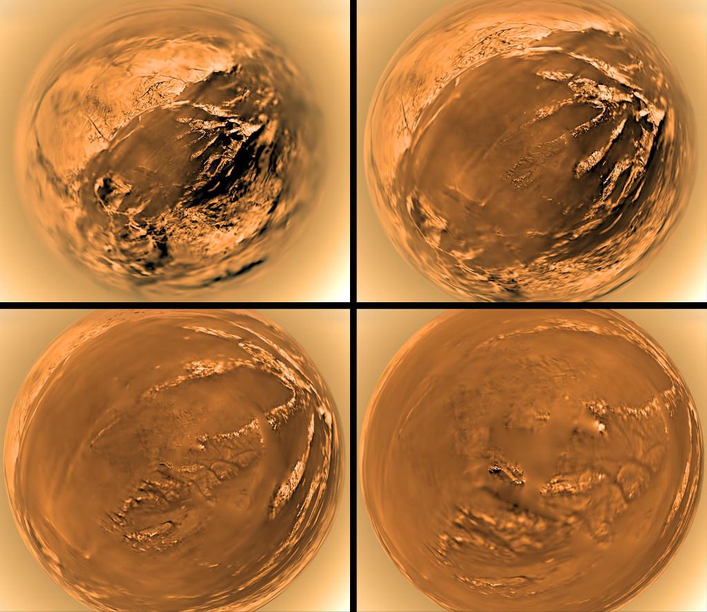 VCSE - Mai kép - A Huygens landol a Titánon