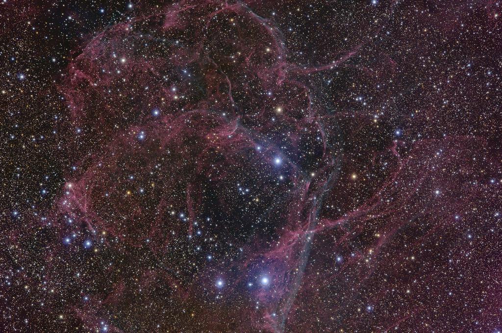 El remanente de la supernova de Vela