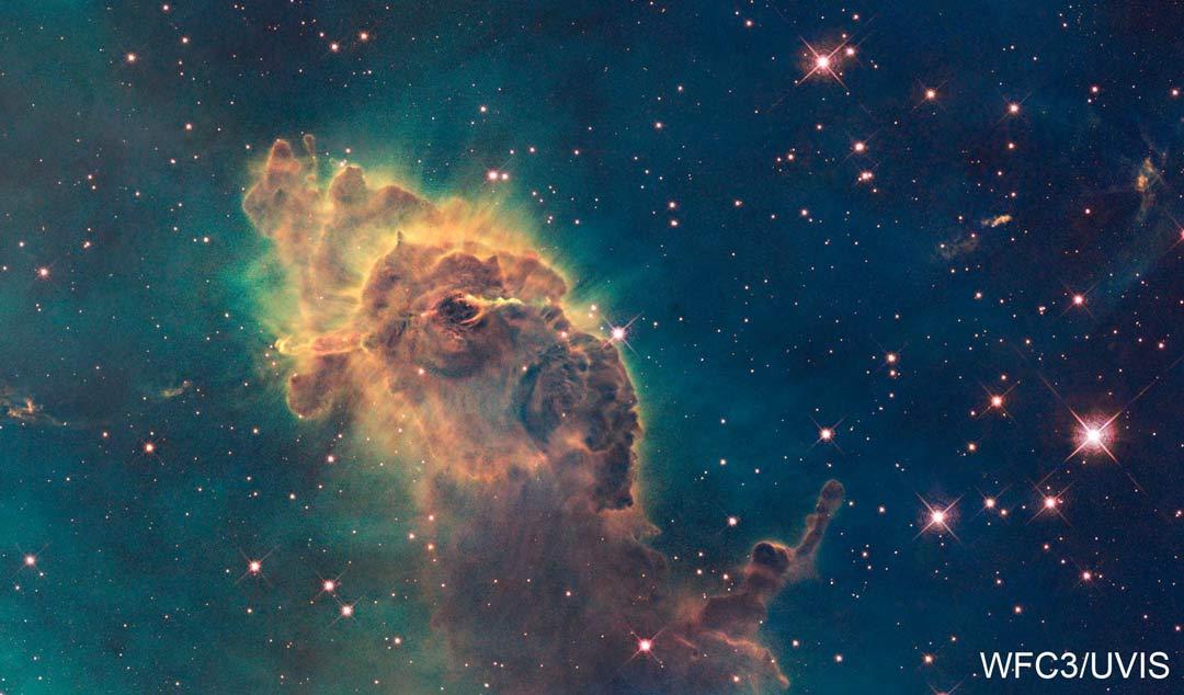 Pilar de polvo de la nebulosa Carina
