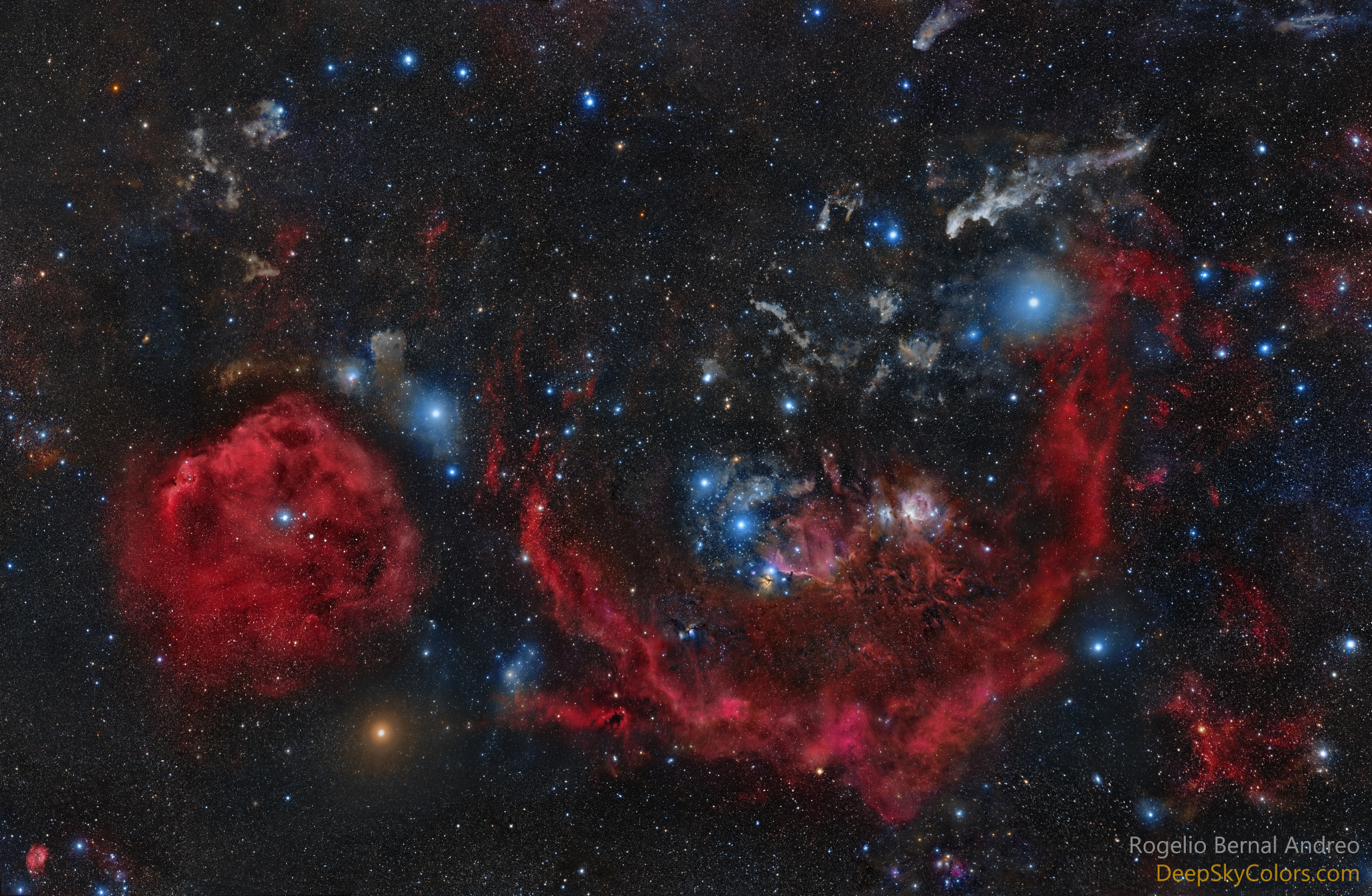 APOD: 2016 December 4 - Official Star Names for Orion