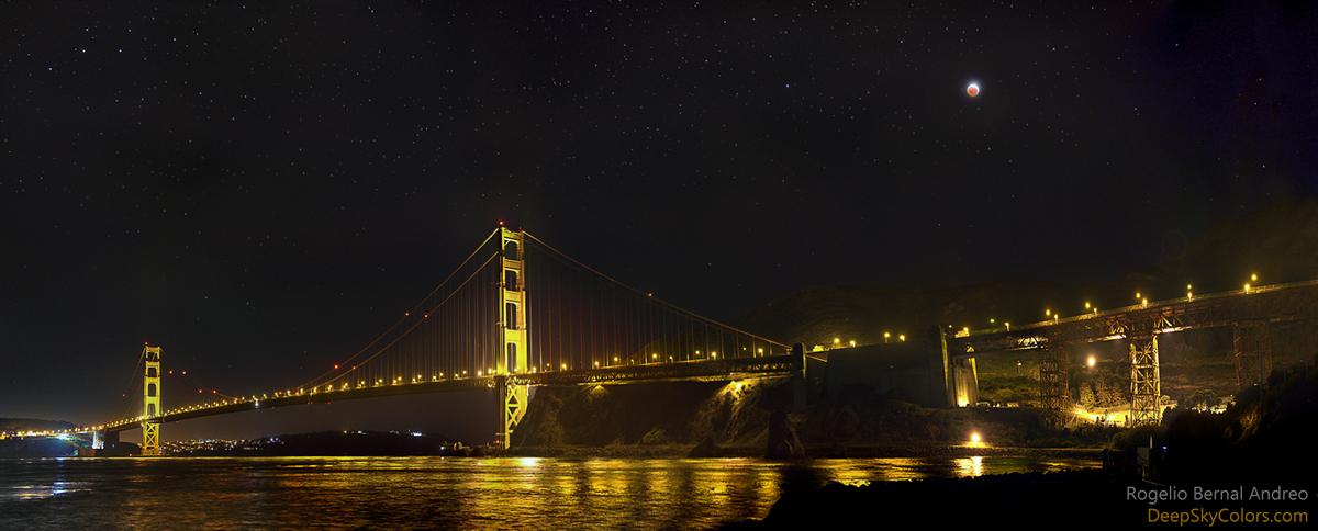 Eclipse en el Golden Gate
