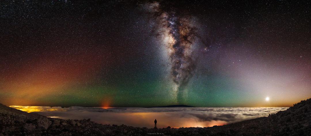 El cielo desde el Mauna Kea