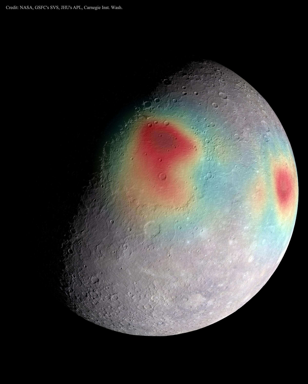2015 May 5 - Gravitational Anomalies of Mercury