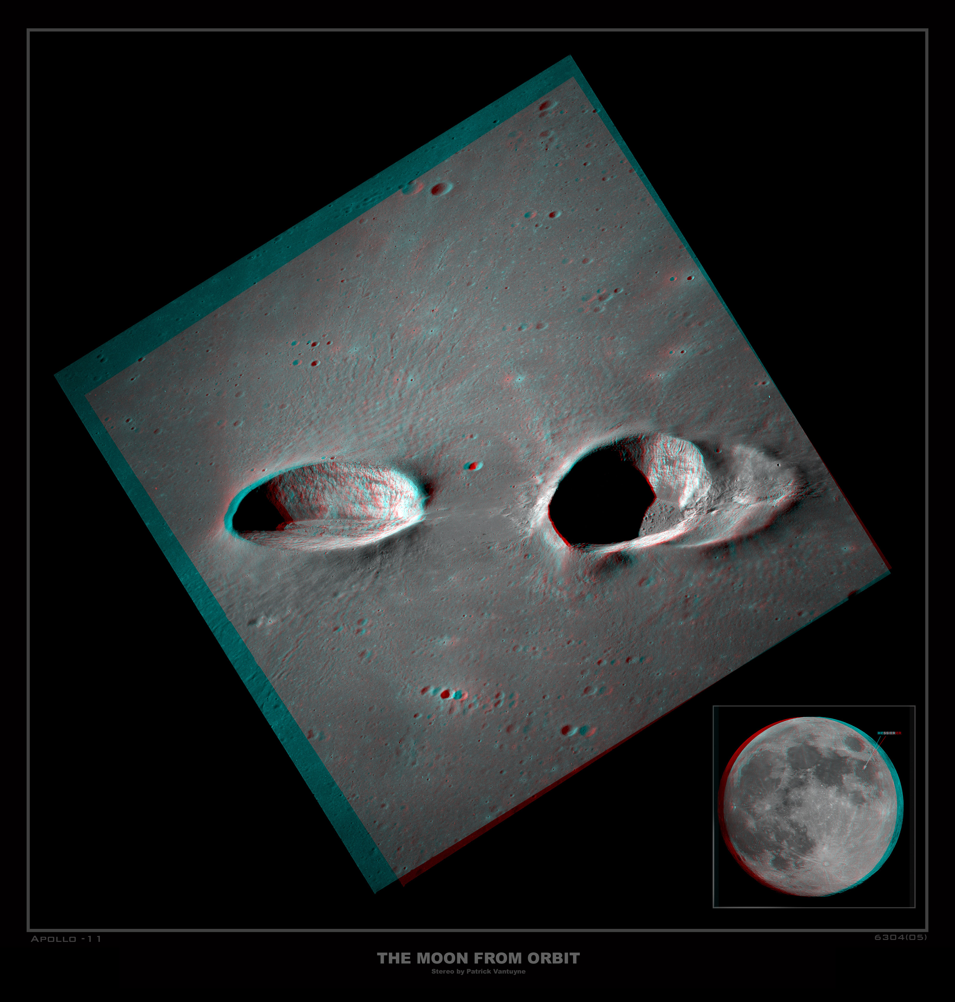 2015 May 30 - Messier Craters in Stereo