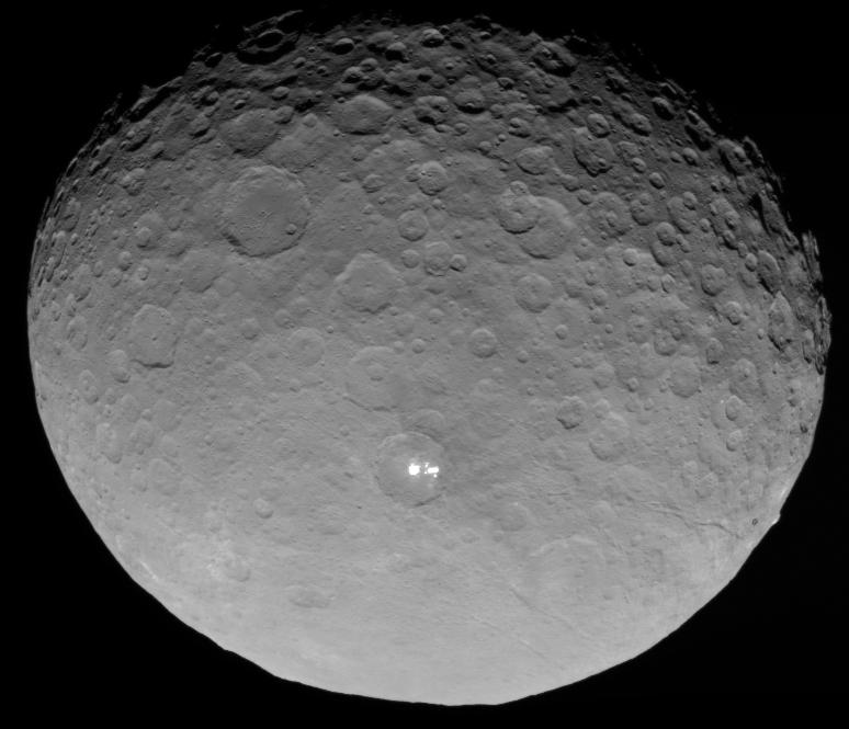2015 May 14 - Dwarf Planet, Bright Spot