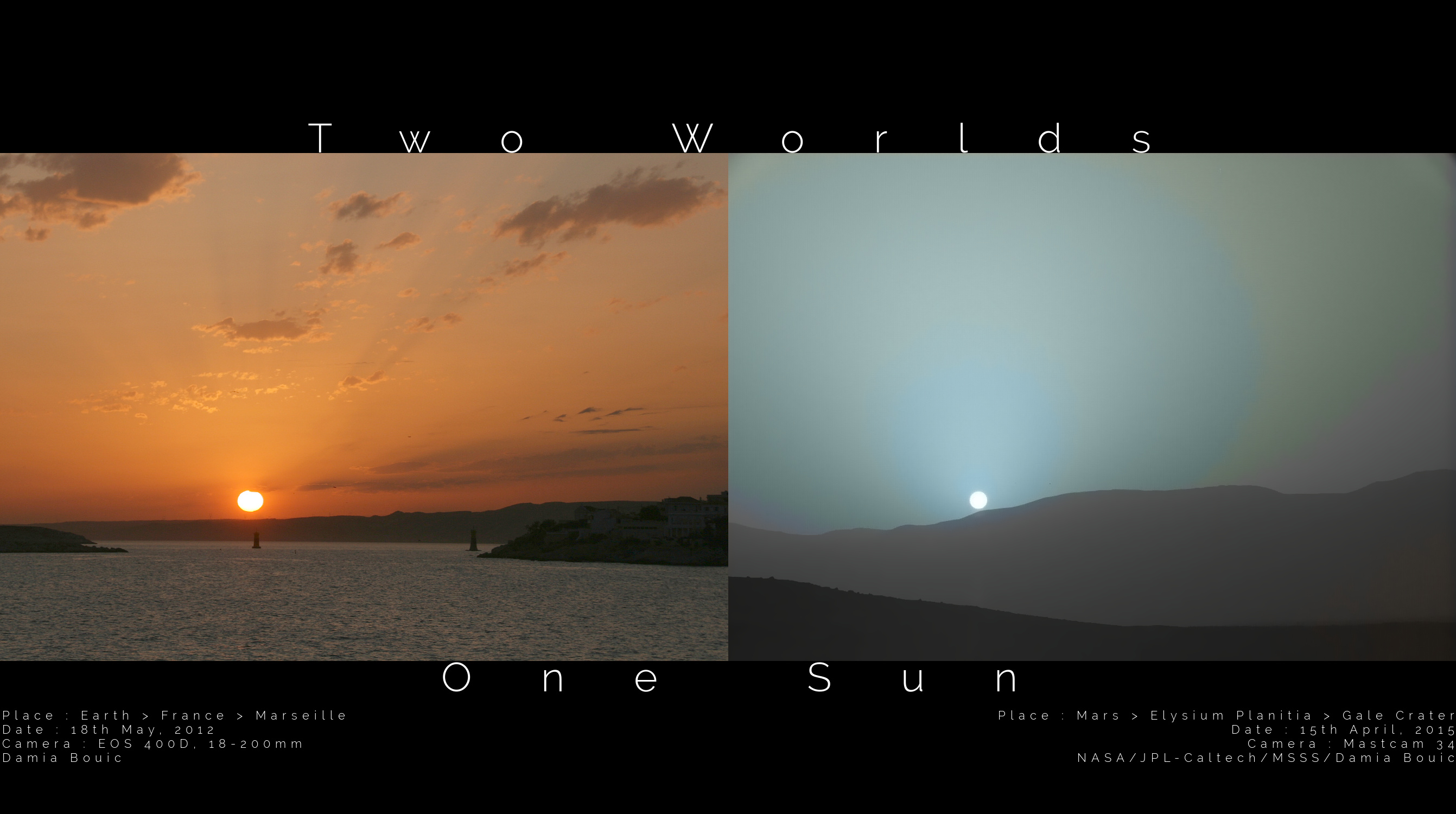 2015 May 12 - Two Worlds One Sun
