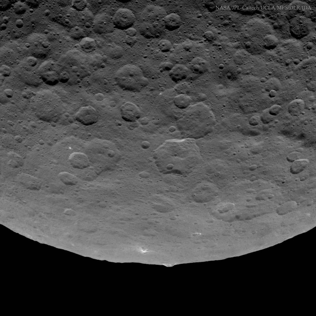 2015 June 30 - An Unusual Mountain on Asteroid Ceres