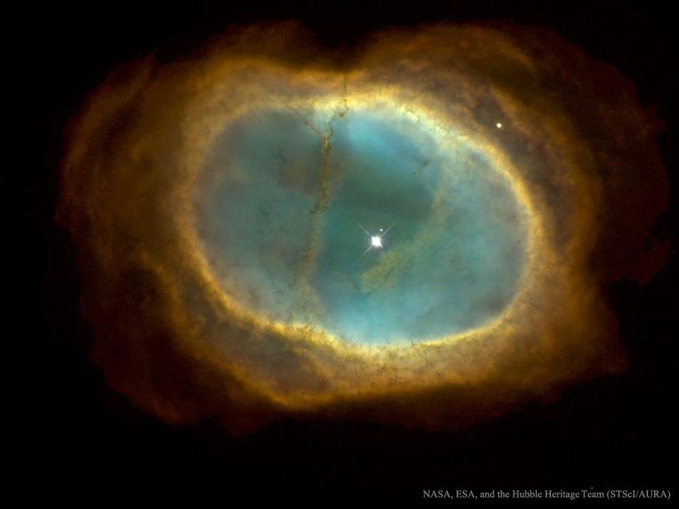 NGC 3132: la nebulosa de los Ocho Estallidos