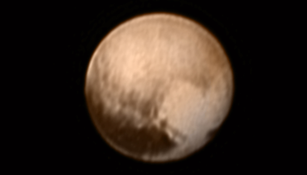 The clearest image of Pluto yet ( apod.nasa.gov )