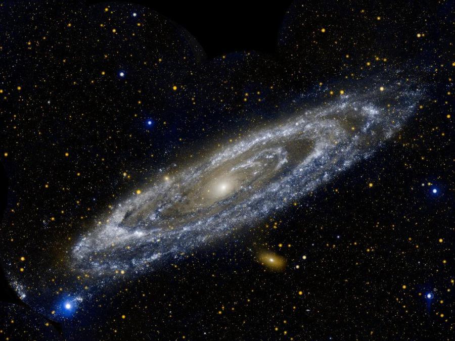 Ultrafialové prstence M31