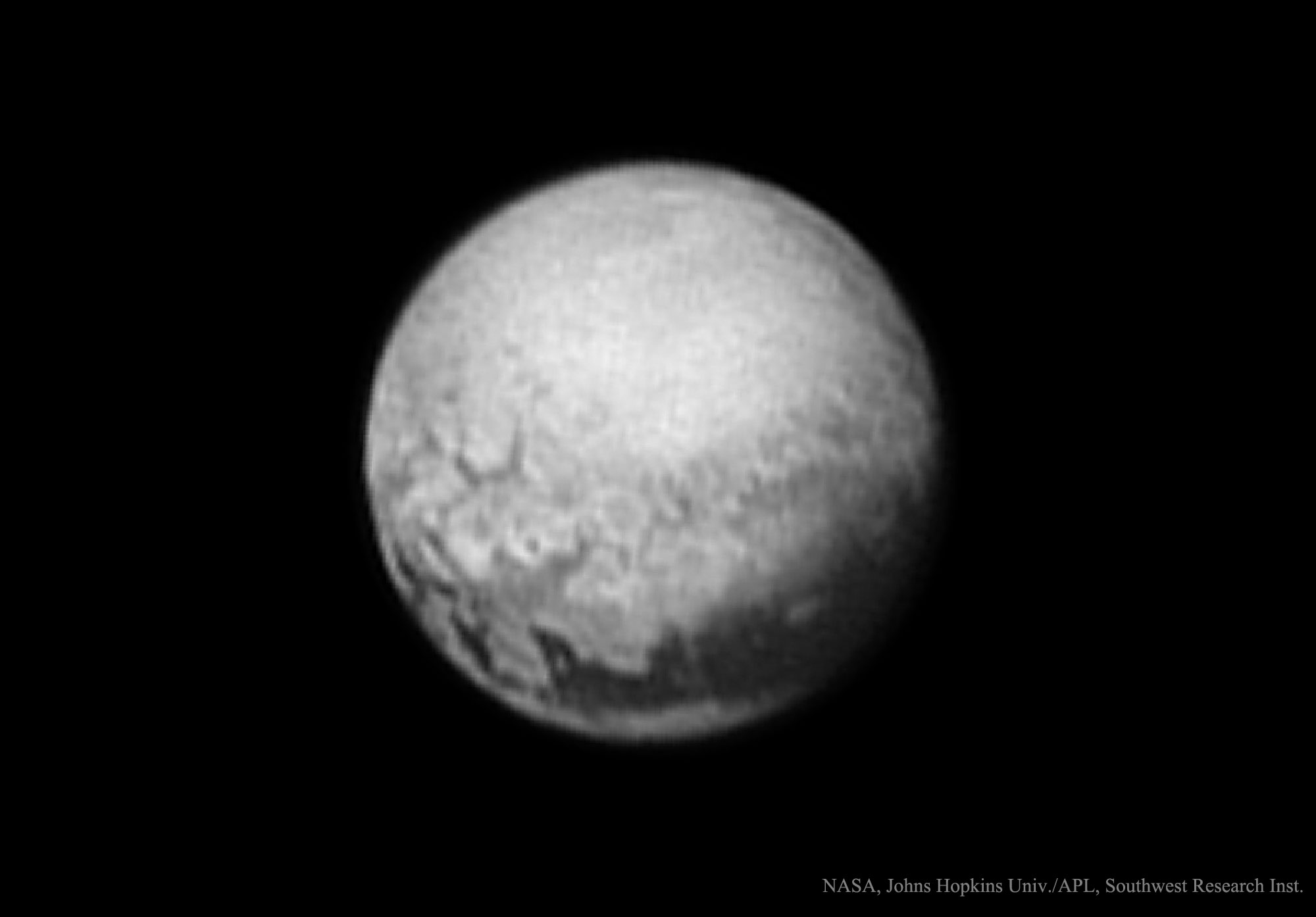 2015 July 11 - Geology on Pluto