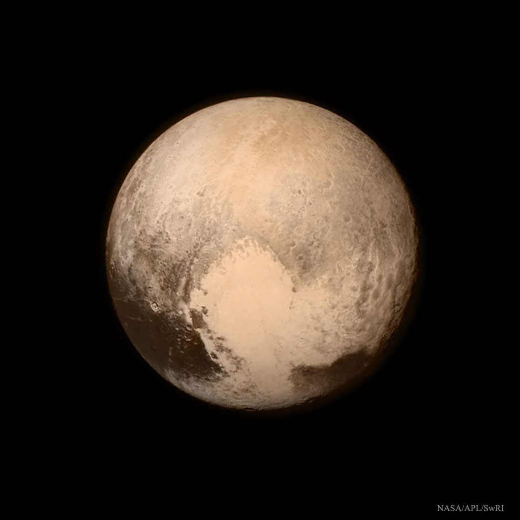 Across The Universe: Pluto Resolved