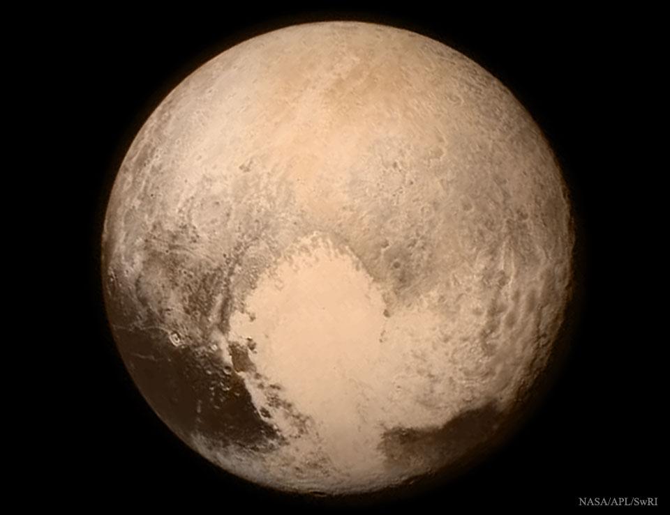 Llegamos a Plutón