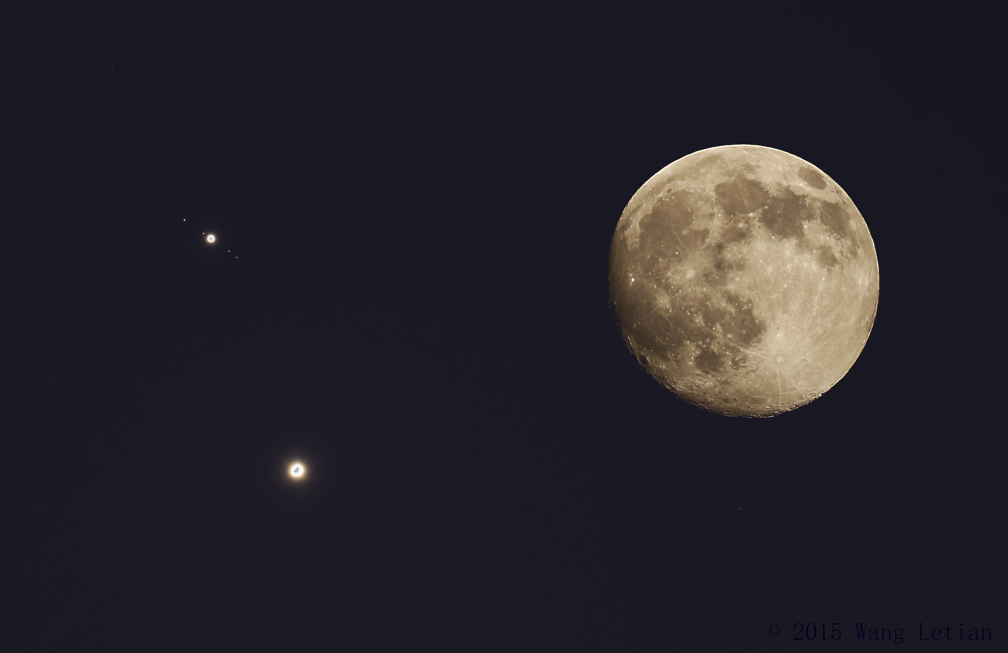 APOD: 2015 July 2 - Venus and Jupiter are Close