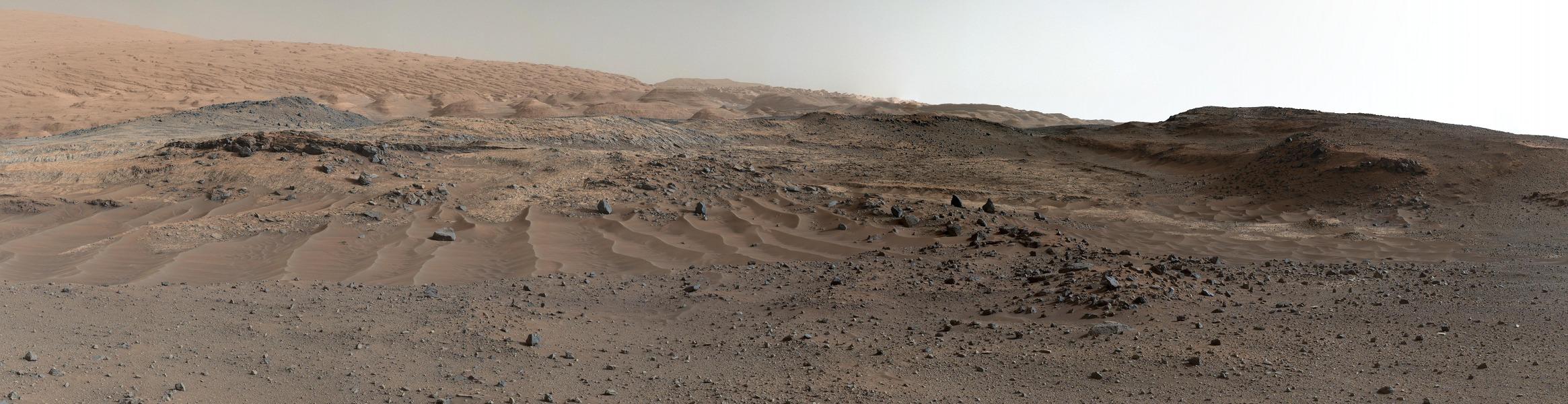 Vista del Curiosity